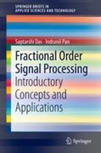 Fractional Order Signal Processing