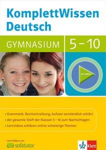 KomplettWissen Deutsch Gymnasium 5.-10. Klasse