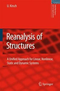 Reanalysis of Structures