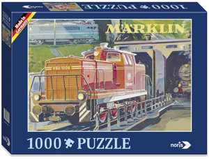 Märklin Nostalgie 1000 tlg. Puzzle V 60