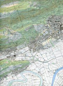 Swisstopo 1 : 25 000 Büren a. A.