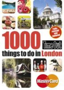 Time Out Guide 1000 Things to Do in London