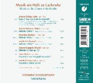 Musik am Hofe zu Carlsruhe