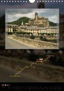 Way of St. James - Via Podiensis / UK-Version (Wall Calendar 201