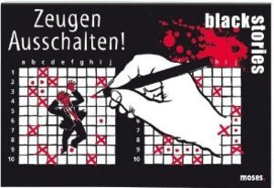 Moses Verlag mos90030 - Black Stories: Zeugen ausschalten