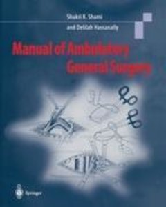 Manual of Ambulatory General Surgery
