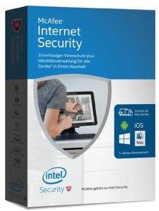 McAfee Internet Security 2016 Unlimited Devices (Code in a Box)