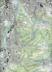 Swisstopo 1 : 25 000 Arlesheim