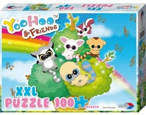 Noris 606031161 - Yoohoo and Friends, XXL Puzzle, 100 Teile