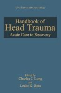 Handbook of Head Trauma