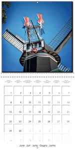 Friesland - The Frisian Mill Route (Wall Calendar 2015 300 × 300