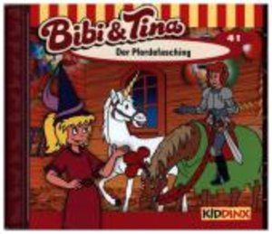 Bibi und Tina 41. Der Pferdefasching. CD