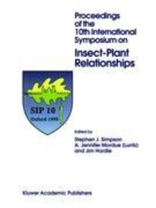 Proceedings of the 10th International Symposium on Insect-Plant