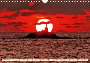 THE SKY OVER SOUTHERN THAILAND (Wall Calendar 2015 DIN A4 Landsc