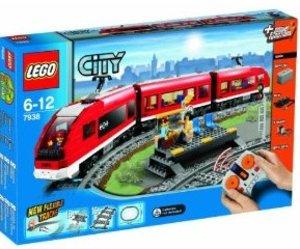 LEGO® City 7938 - Passagierzug, Eisenbahn mit Schienen u