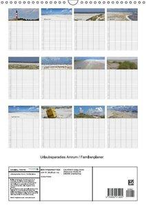 Potratz, A: Urlaubsparadies Amrum / Familienplaner (Wandkale