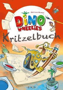 Dino Wheelies Kritzelbuch
