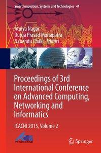 PROCEEDINGS OF 3RD INTERNATIONAL CONFER