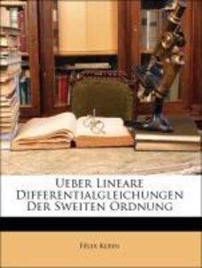 Ueber Lineare Differentialgleichungen der Sweiten Ordnung