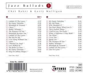 Jazz Ballads-Chet Baker,Gerry Mulligan