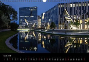 Hoffmann, K: Düsseldorf - Ansichten am Abend (Wandkalender 2