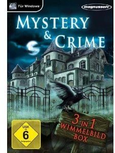Mystery and Crime - 3 in 1 Wimmelbildbox