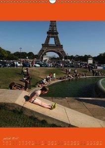 Paris se déplace (Calendrier mural 2015 DIN A3 vertical)