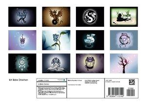 Ich liebe Drachen (Posterbuch DIN A4 quer)