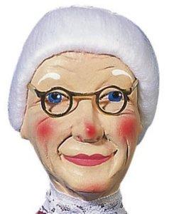 Kersa Micha 30140 - Handpuppen Großmutter, 35 cm