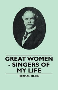 Great Women - Singers of My Life