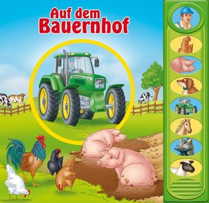 Auf dem Bauernhof. 8-Button - Soundbuch