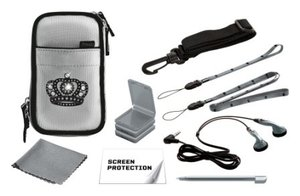 Nintendo DS lite - Princess Pack - Zubehör-Silber