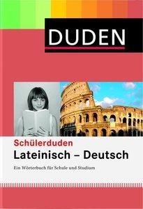Duden. Schülerduden. Lateinisch - Deutsch