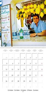 Capri Fun (Wall Calendar 2015 300 × 300 mm Square)