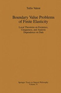 Boundary Value Problems of Finite Elasticity