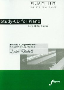 "Study-CD for Piano Sonatina II ""Jugendfreuden"""