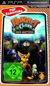 Ratchet & Clank - Size Matters - PSP Essentials