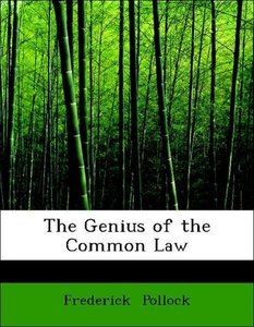 The Genius of the Common Law