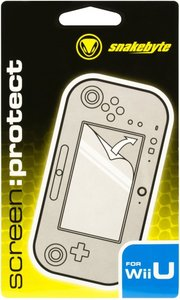 snakebyte SCREEN:PROTECT - Bildschirmschutzfolie für Nintendo Wi