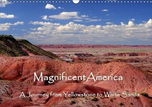Magnificent America - UK Version (Wall Calendar 2016 DIN A3 Land