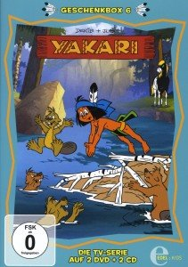 Yakari - Die Geschenkbox 06. 2 DVD + 2 CD
