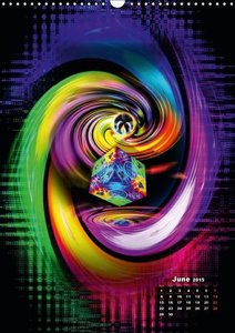 Rainbow Creations (Wall Calendar 2015 DIN A3 Portrait)
