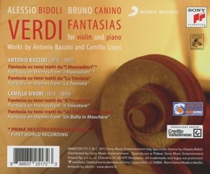 Giuseppe Verdi - Fantasia - Transcriptions by Camillo Sivori