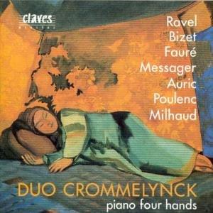 Französische Klaviermusik-Piano Four Hands