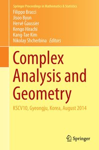 Complex Analysis and Geometry