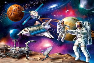 Weltraum-Abenteuer, 150 Teile