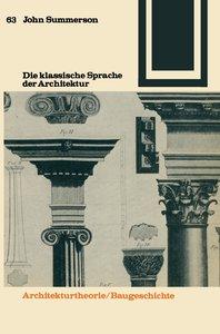 Die klassische Sprache der Architektur