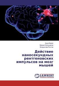 Dejstvie nanosekundnyh rentgenovskih impul\'sov na mozg myshej