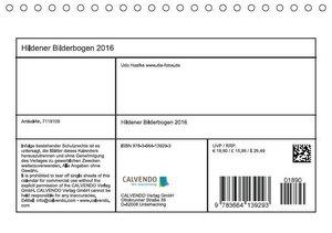 Hildener Bilderbogen 2016 (Tischkalender 2016 DIN A5 quer)