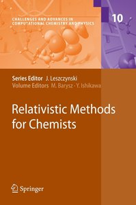 Relativistic Methods for Chemists